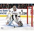 John Gibson Anaheim Ducks Unsigned NHL Debut Photograph