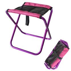 Ultralight Foldable Picnic Fishing Chair Stool Portable Camping Chair for Outdoor Hiking Backpack Travel;Outdoor Foldable Picnic Fishing Chair Stool Portable Camping Chair