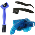 Bike Chain Scrubber Chain Brush Chain Gear Cleaner Bicycle Clean Tool Set Bike Maintenance Care Cleaner Accessories for Cycling Bikes Road Bikes Mountain Bikes