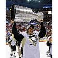 Sidney Crosby Pittsburgh Penguins 2009 Stanley Cup Champions Unsigned Raising Cup Photograph