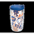 MLB New York Mets All Over 16 oz Tumbler with lid
