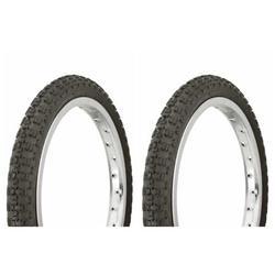 "Tire set. 2 Tires. Two Tires Duro 16"" x 1.75"" Black/Black Side Wall HF-143G. Bicycle Tires, bike Tires, kids bike Tires, lowrider bike Tires, bmx bike Tires"