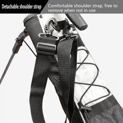 Large Capacity Portable Golf Bracket Bag Golf Bag Standard Lightweight Waterproof Golf Support Bag.