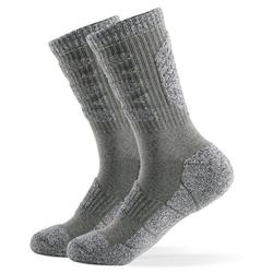 LIXADA Men's Sports Socks Professional Ski Socks Thick Knit Winter Athletic Socks Outdoor Fitness Breathable Quick Dry Socks For Ski Marathon Running Cycling Wear-resistant Lightweight -skid Warm So