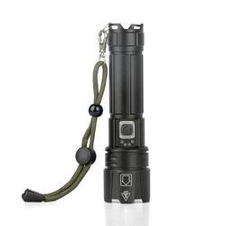 Promotion!LED Flashlight Portable Strong Light Flashlight Micro USB Rechargeable Zoom Flashlight LED Flashlights Rechargeable High Lumens