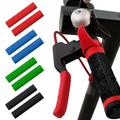 SPRING PARK 1 Pair Bicycle Brake Handle Tip Cover Anti-slip Silicone Bike Handlebar Protect Cover