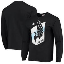 Minnesota United FC Majestic Primary Logo Long Sleeve T-Shirt - Black