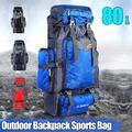 Hiking Backpack Waterproof Travel Fishing Climbing Camping Hiking Daypack, Hiking Backpack, 80L Mountaineering Backpack for Women, Men