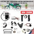 """36V 350W Electric Bike Conversion Motor Controller Speed Control Switch Kits Tools For 24-28"""" Bicycle(Not Include battery and charger)"""
