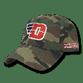 NCAA Dayton University Flyers 6 Panel Relaxed Camo Camouflage Baseball Caps Hat