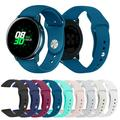 Amerteer For Samsung Galaxy Watch Active 2 Replacement Silicone Quick Release Stylish Sport Wrist Band Straps Wristbands Bracelet Watch Band