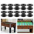 Kritne 10 Pair Tabletop Foosball Bushings Table Football Bearing Rods Foosball Fun Games Accessories,Table Football Bearing Rods,Tabletop Foosball Accessories