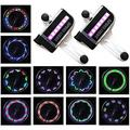 Bike Wheel Lights (2 Tire Pack) - LED Bicycle Wheel Lights, Waterproof Bike Tire Lights Bike Spoke Lights, Cool Adult and Kids Bike Accessories, Ultra Bright 30 Patterns 14 LED Bike Lights for Wh