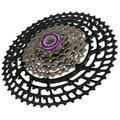 Mgaxyff 10 Speed 50T Race Mountain Bike Chain Wheel Aluminium Alloy Ultralight Freewheel Bicycle Accessory Bicycle Cassette Freewheel Fit For Mountain Bike, Road Bicycle
