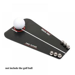 Balems Universal Golf Putting Tutor,Premium Golf Putting Mirror with Carry Bag - Portable Golf Trainer Alignment to Improve Technique, Golf Training Aid