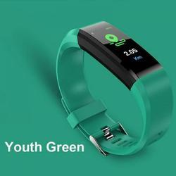Bullpiano Fitness Tracker Watch/ USB Fitness Watch/ Waterproof Smart Watch/ Oxygen Monitor/ Heart Rate Monitor/ Step Tracker/ Step Counter for Walking/ Fitness Watches for Women Men Kids