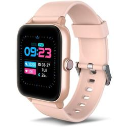 Activity Tracker Smartwatch Android - Smart Watches for Women Health Watch Fitness Watch Heart Rate Monitor Fit Watch 5ATM Fitness Tracker Waterproof Smart Watch for iPhone Pearl Pink