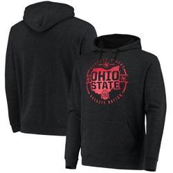 Ohio State Buckeyes Colosseum Buckeye Nation State Pullover Hoodie - Heathered Black