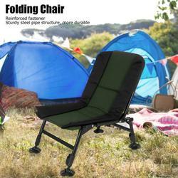 OTVIAP Folding Reclining Lounge,Fishing Chair,Portable Outdoor Lounge Chair Lightweight Folding Chair for Camping Beach Garden Fishing