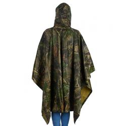 Mgaxyff Waterproof Hooded Raincoat Multi-functional Camouflage Raincoat for Camping Hiking Jungle,Raincoat, Waterproof Raincoat