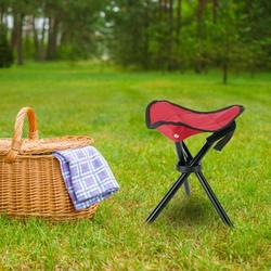 NewHome Folding Tripod Stool Outdoor Foldable Travel Chair Portable Stable Seat For Camping Fishing Travel Hiking Garden Beach