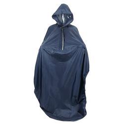 Tebru Hooded Wheelchair Rain Cover Waterproof Soft Wheelchair Rain Coat, Soft Wheelchair Rain Coat, Hooded Wheelchair Rain Cover