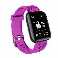 Peyan Smart Watch Fitness Tracker Watches Heart Rate Monitor IP67 Waterproof Digital Watch with Step Calories Sleep Tracker Purple