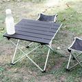 OTVIAP Folding Desk,Aluminium Alloy Portable Folding Table BBQ Camping Table Desks for Outdoor Picnic,Camping Desk