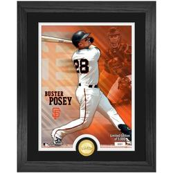 Buster Posey San Francisco Giants Highland Mint 13'' x 16'' Bronze Coin Photo Mint