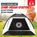 10ft/6.5ft Golf Net Golf Hitting Nets with Target Carrying Bags,Great Gift for Father's Day, Golf Practice Net for Backyard Hitting Practice