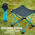 Travel Ultralight Folding Chair, Outdoor Camping Chair, Portable Beach Hiking Picnic Seat Fishing Tools Chair