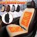 Heated Seat Cushion for Car Seat Warmer, Universal 12V Car Seat Heater with Adjuatable Temperature,Car Seat Cushion Heated Seat Covers for Car Left Seat