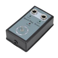 Tebru Sparking Plug Diagnostic Tool,Auto Adjustable Sparking Plug Tester Dual Hole Ignition Engine Fault Code Reader,Spark Plug Tester