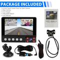 """""""1080P 3 Camera Car Dash Cam with 4"""""""" Touch Screen, 170° Front, Rear, and Inside Dash Camera, Dual Dash Cam Car Recorder, Super Night Vision, Motion Detection, G-Sensor, Parking Monitoring"""""""