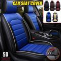 1 Pcs Car Seat Protector PU Fashion Car Seat Cover,Breathable Car Interior Set,Comfortable Adjustable Seat Cushions Universal Fit, Universal Full Car Seat Mat Covers