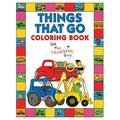 Things That Go Coloring Book with The Learning Bugs : Fun Children's Coloring Book for Toddlers & Kids Ages 3-8 with 50 Pages to Color & Learn About Cars, Trucks, Tractors, Trains, Planes & More (Paperback)