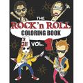 Music Coloring Book: Rock N Roll Coloring Book : A music coloring book for adults - For rock, hard rock and heavy metal fans - exclusive designs (Paperback)