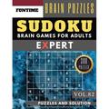 Expert Sudoku Puzzle Books: Expert SUDOKU : 300 SUDOKU extremely hard puzzle books - sudoku hard to extreme difficulty Maths Book Puzzles and Solutions times for Adult and Senior (hard sudoku puzzle books Vol.82) (Series #82) (Paperback)