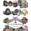 Notebook Journal : Overwatch 01: Pocket Notebook Journal Diary, 120 Pages, 8 X 10 (Dot-Grid, Graph, Lined, Blank No Lined Notebook Journal)