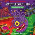 Dungeons & Dragons: Dungeons & Dragons Adventures Outlined Coloring Book (Paperback)