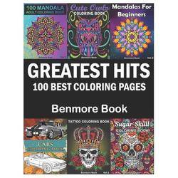 Greatest Hits: Greatest Hits: An Adult Coloring Book with the 100 Best Pages (Paperback)