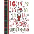 16 Fa La Fa La La La La La Llama Christmases : Llama Gift For Teen Girls Age 16 Years Old - Art Sketchbook Sketchpad Activity Book For Kids To Draw And Sketch In (Paperback)