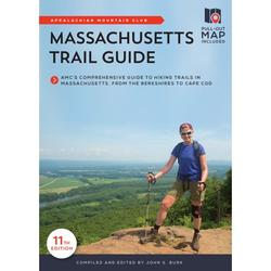 Massachusetts Trail Guide : Amc's Comprehensive Guide to Hiking Trails in Massachusetts, from the Berkshires to Cape Cod (Edition 11) (Paperback)