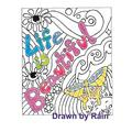 Life Is Beautiful : Coloring Book (Paperback)