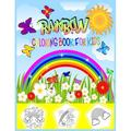 Rainbow Coloring Book For Kids : Rainbow Themed Coloring Book For Kids With Cute Rainbow, Stars, Sun, Unicorn, Wings and More (Paperback)