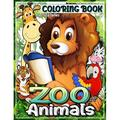 ZOO Animals Coloring Book: Zoo Book Coloring Pages, Animals National Parks Coloring Book Watercolor Coloring Book Kids Animal Coloring Book Nature Coloring Book Cute Coloring Book Zoo Book Childrens (