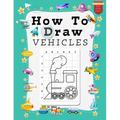 How to Draw Vehicles for Kids: A Grid Base Step-by-Step Drawing Workbook and Activity Book for Kids & Children to Learn to Draw Cute and Cool Stuff in Easy Simple Steps. Land, Sea, and Air Transport.