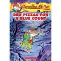 Red Pizzas for a Blue Count (Geronimo Stilton #7), Pre-Owned (Paperback)