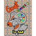 Goat Coloring Book: Wonderful Adult Coloring Books for Goat lover - Goat Coloring Patterns (farm animal coloring book) (Paperback)