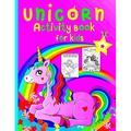 Unicorn Activity Book for Kids: Coloring pages and activities for girls and boys aged 4 and 8, a fun game for children to learn coloring, puzzles, dot to dot, mazes, and more. (Paperback)